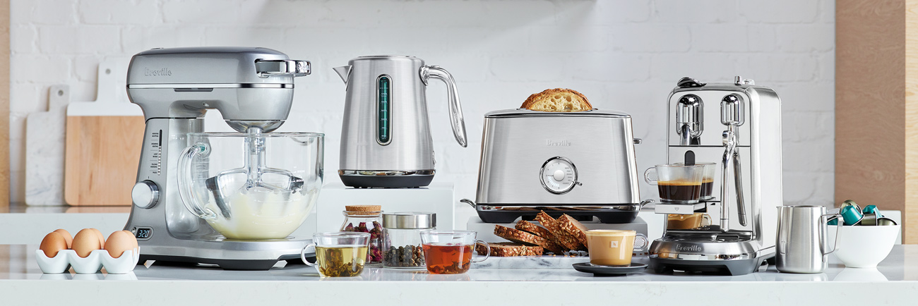 the Toast Select Luxe® Toaster In Brushed Stainless Steel