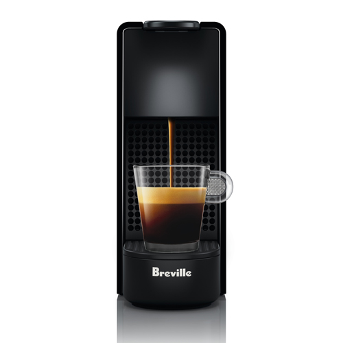Essenza Mini Bundle Nespresso in Piano Black ultra light & compact