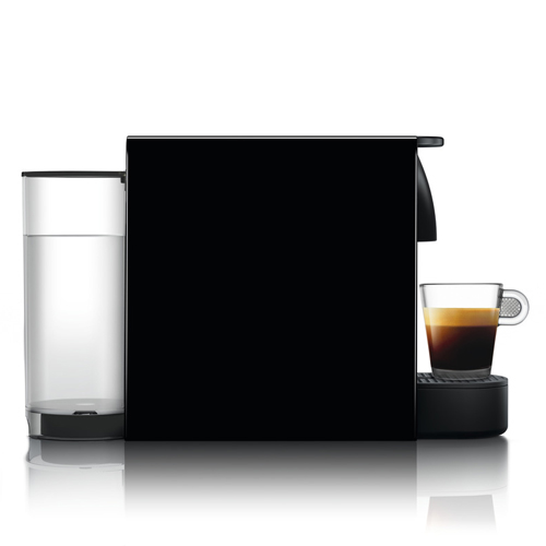Essenza Mini Bundle Nespresso in Piano Black intuitive & easy to use