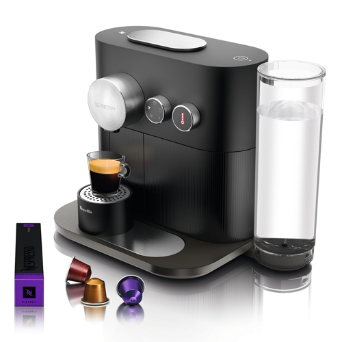 Expert Nespresso in Off Black intuitive & easy to use