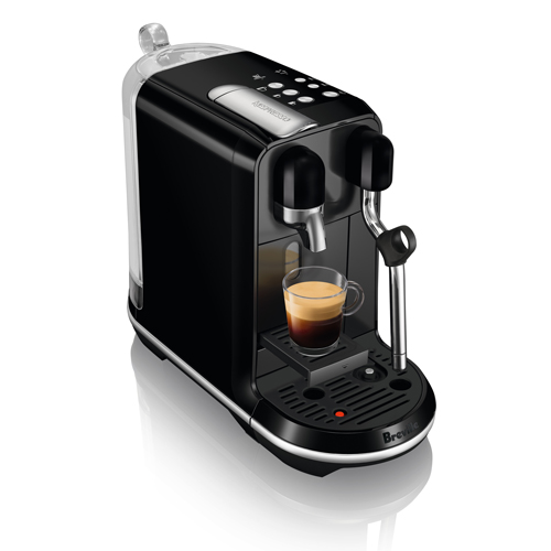 Creatista Uno Espresso Machine in Black Sesame auto cleaning function