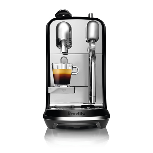 Creatista™ Nespresso Machine In Brushed Stainless Steel cafe quality micro-foam