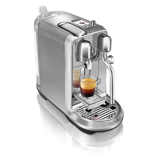 the Creatista Plus Nespresso Machine in Brushed Stainless Steel auto clean function