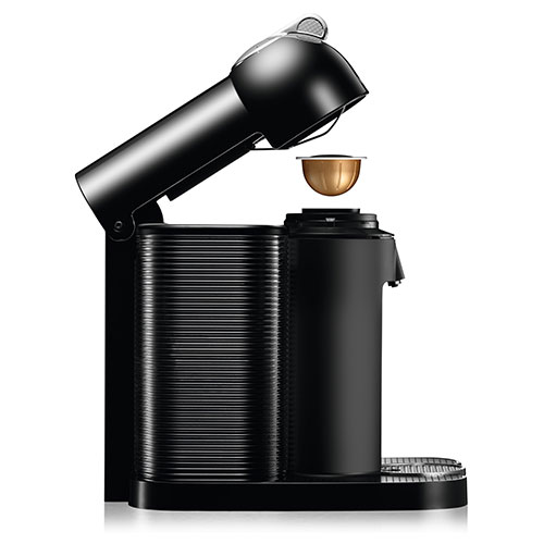 Vertuo Nespresso Machine in Black capsule recognition technology