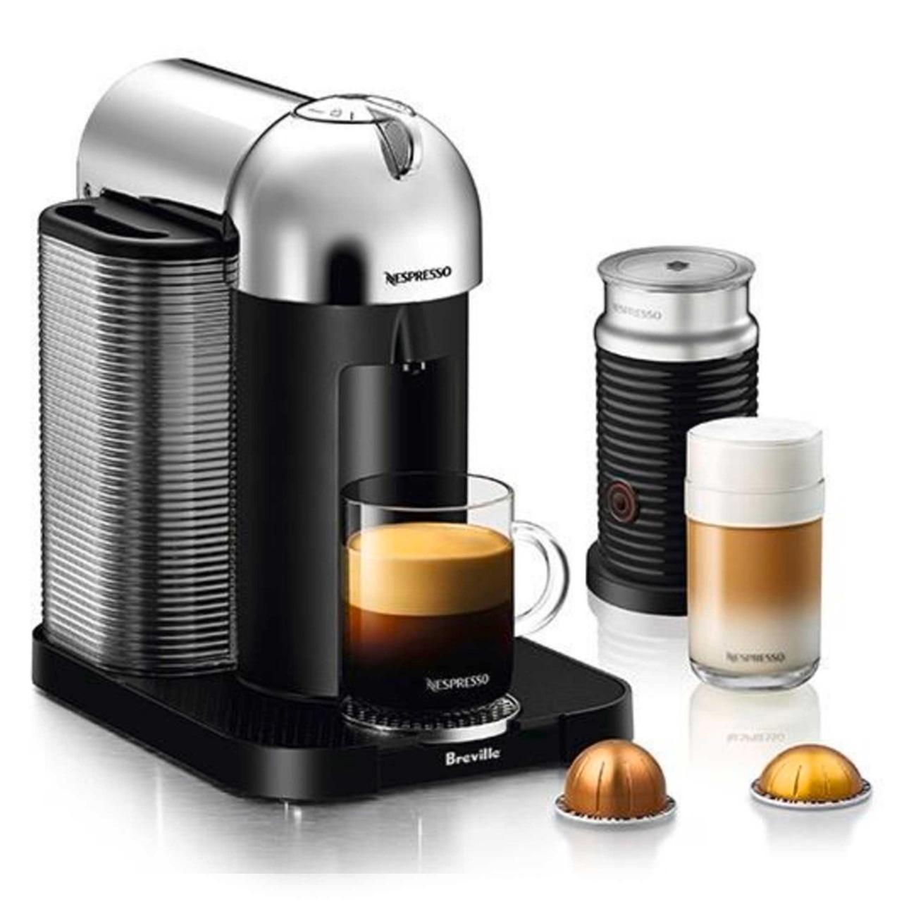 Breville BNV250BLK1BUC1 Nespresso Vertuo Coffee and Espresso Machine
