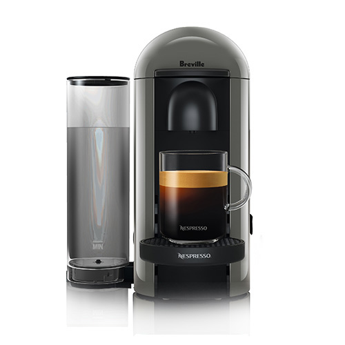 VertuoPlus Bundle Nespresso Machine in Black centrifusion technology