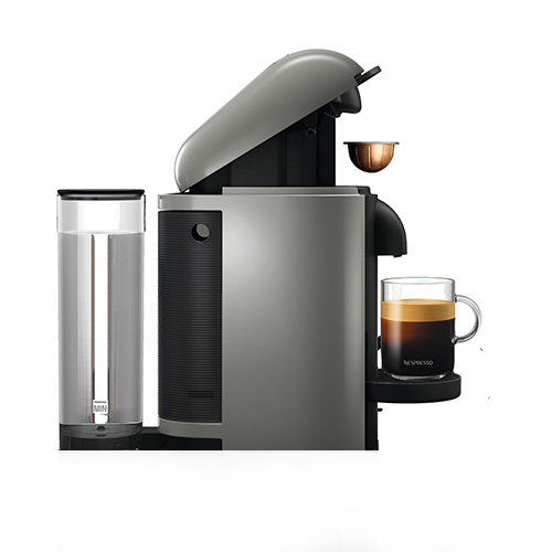 VertuoPlus Bundle Nespresso Machine in Black intuitive & easy to use