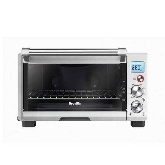 the Smart Oven® Compact Convection Brushed Stainless Steel
