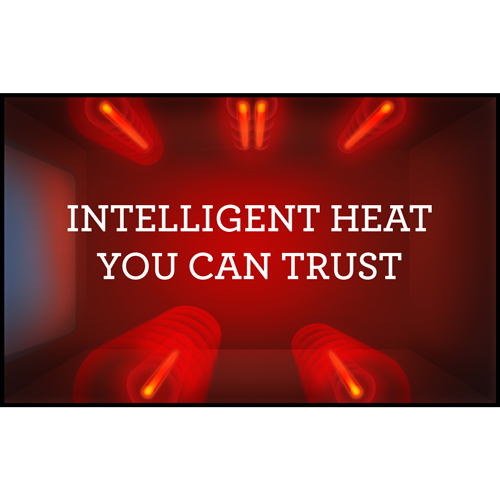 Accurately controlled heat for consistent and flawless results