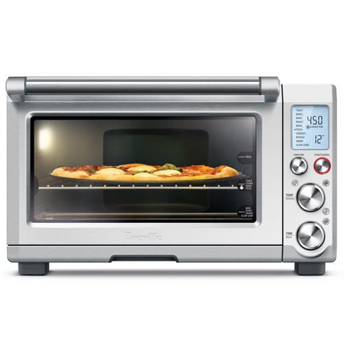 the Smart Oven™ Pro Oven In Brushed Stainless Steel interior oven light