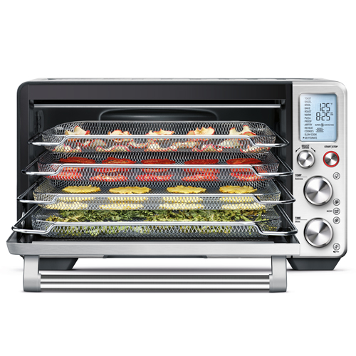 the Smart Oven® Air Oven In Brushed Stainless Steel air fry and dehydrate