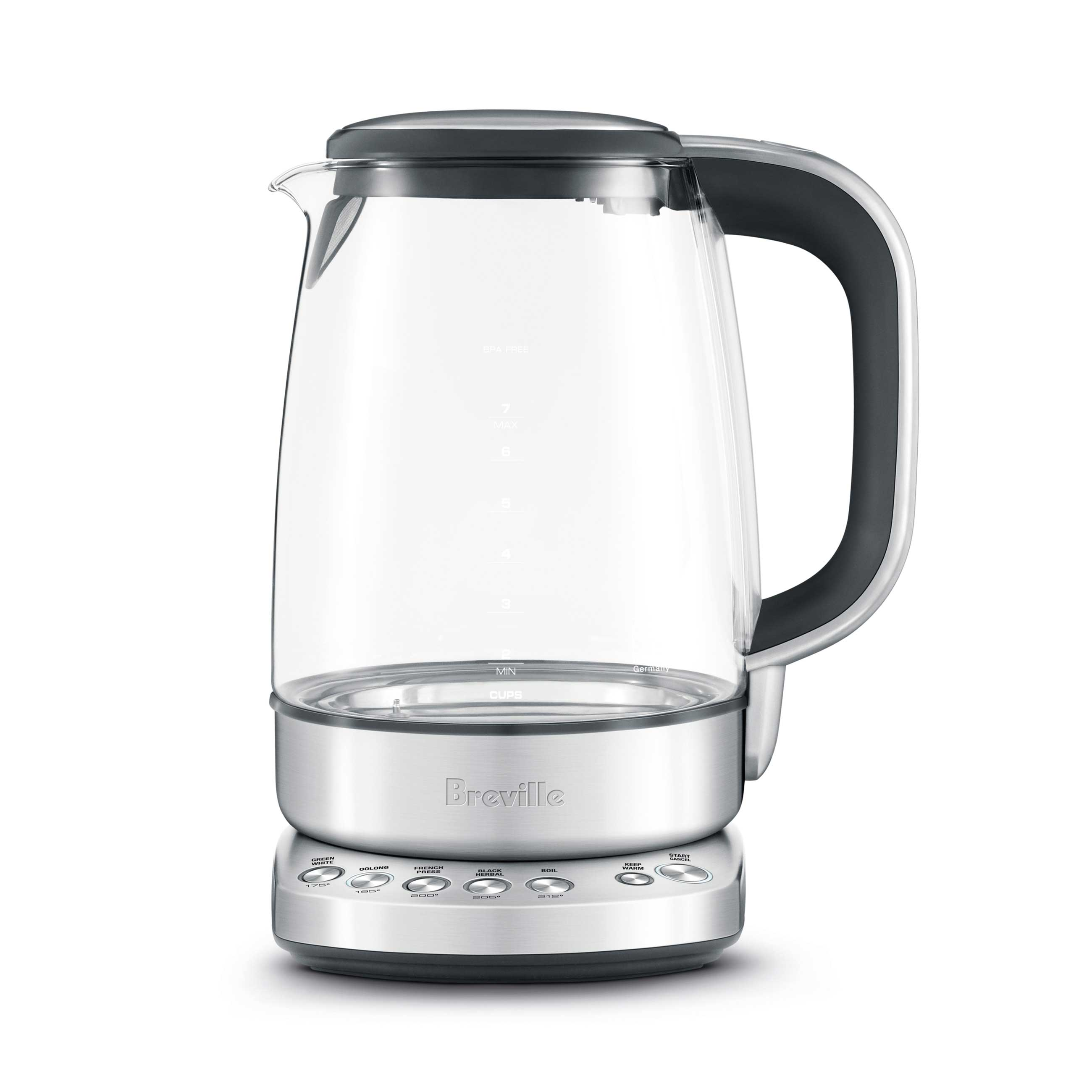 the IQ Kettle Pure in Brushed Stainless Steel with cordless convenience