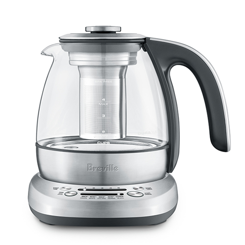 the Breville Smart Tea Infuser Compact in Brushed Stainless Steel boils water for other drinks too
