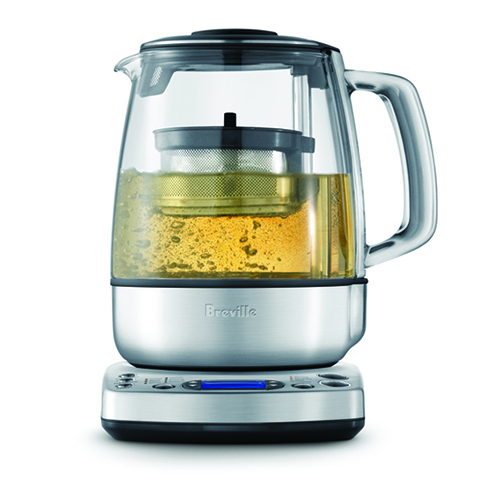 the Tea Maker in Brushed Stainless Steel infusion perfection