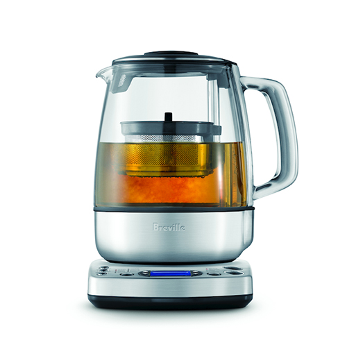 the Tea Maker in Brushed Stainless Steel with auto start and keep warm functions