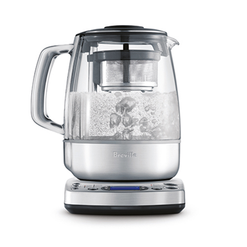 the Tea Maker in Brushed Stainless Steel boils water for other drinks too