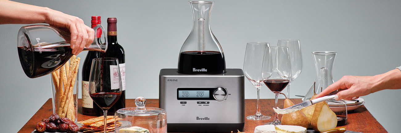 the Sommelier™ Wine Product In Silver