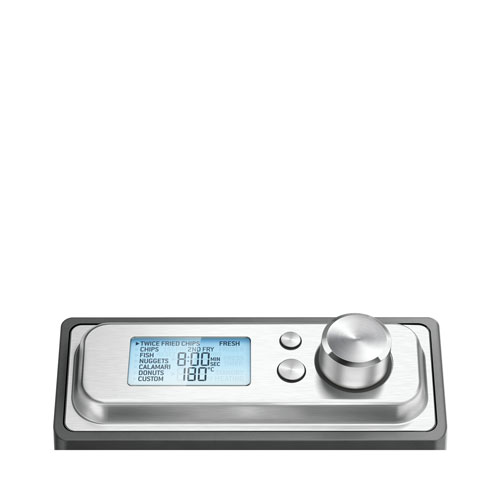 Silver Sage BDF500UK the Smart Deep Fryer with Automated Smart Menu