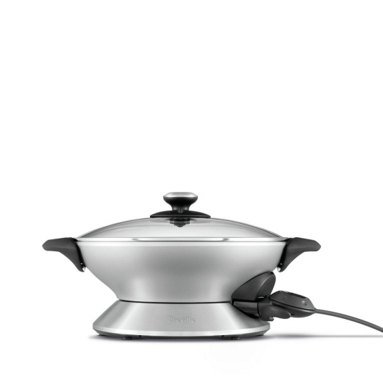 the Hot Wok™ Brushed Stainless Steel