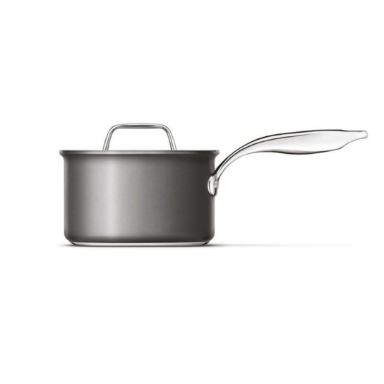 Thermal Pro® Hard Anodized Covered 3qt Saucepan Hard Anodized Aluminum