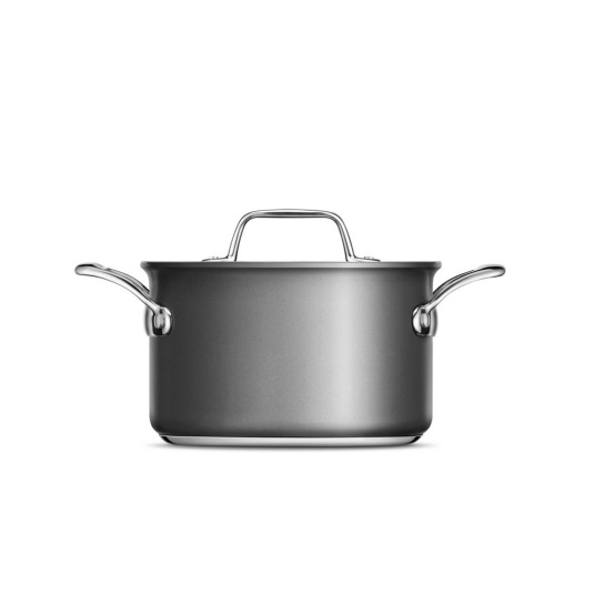 Thermal Pro® Hard Anodized Covered 4qt Saucepot Hard Anodized Aluminum