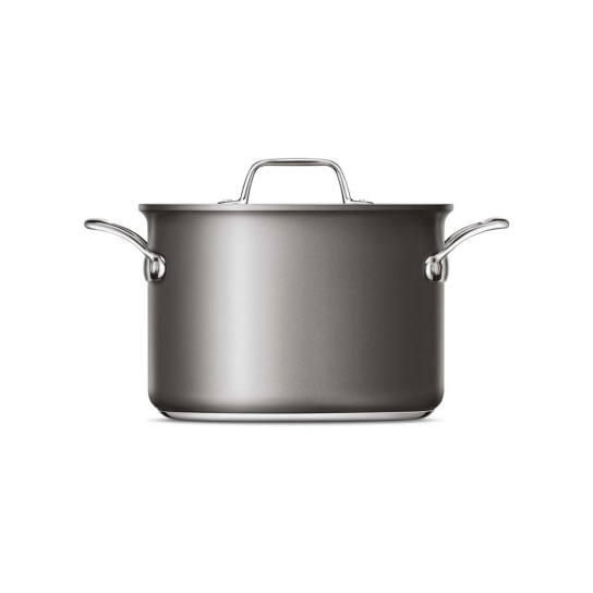 Thermal Pro® Hard Anodized Covered 8qt Stockpot Hard Anodized Aluminium