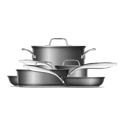 Thermal Pro® Hard Anodized 10-Piece Cookware