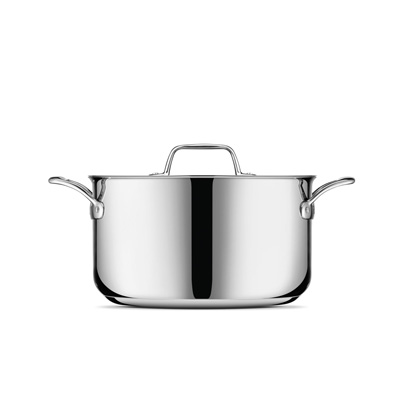 Thermal Pro® Clad Stainless Steel 8qt Stockpot
