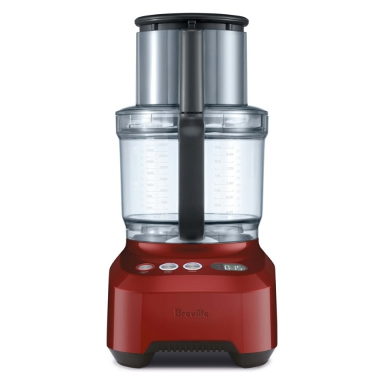 the Breville Sous Chef® 16 Pro Cranberry Red