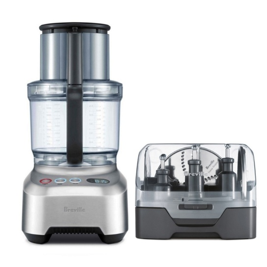 the Breville Sous Chef® 16 Pro Brushed Aluminium