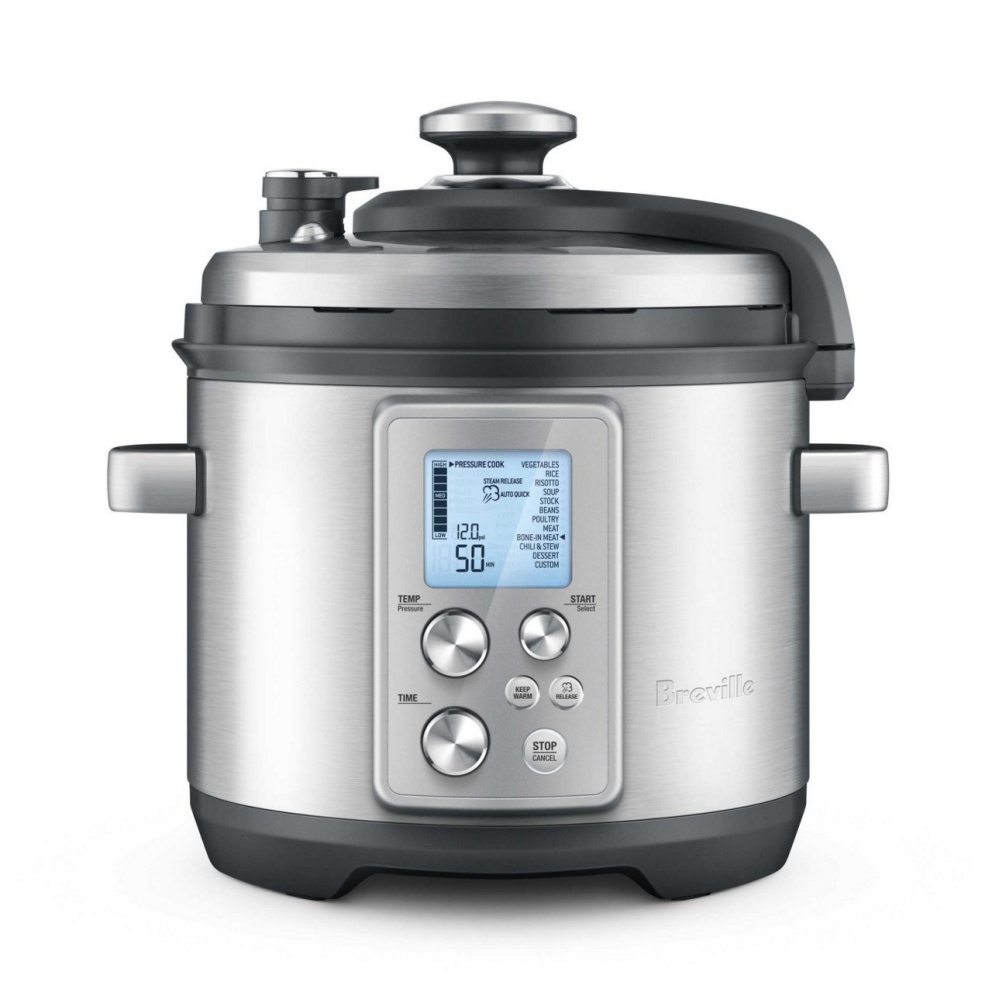 Breville The Fast Slow Pro Pressure Cooker - безопасная скороварка